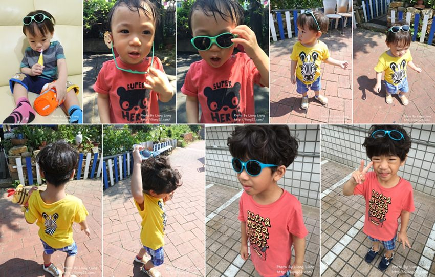 保護眼睛,就從防曬做起‧法國KI ET LA幼兒太陽眼鏡