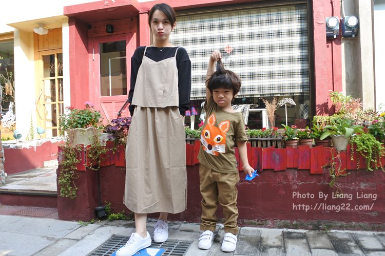 台灣自創品牌Barbe à Papa (棉花糖) 親子鞋‧大手牽小手一起幸福同遊