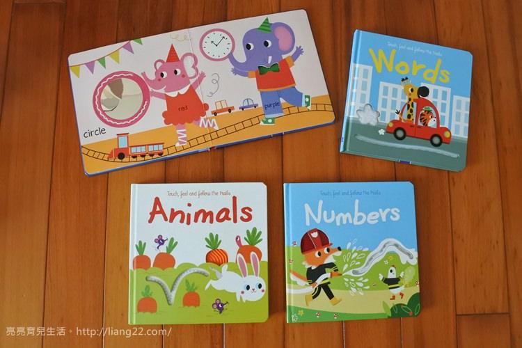 Q比書單分享♥適合0~3歲幼兒閱讀的TOUCH, FEEL AND FOLLOW THE TRAILS 觸摸軌道書