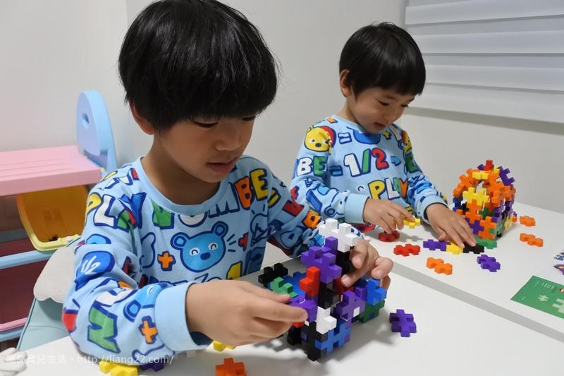 超好玩!!激發孩子無限創意的Plus-Plus 加加積木