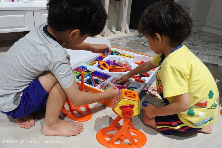韓國GINIMAG 352 磁性建構片‧超多片數無敵好玩,讓孩子發揮無限想像空間
