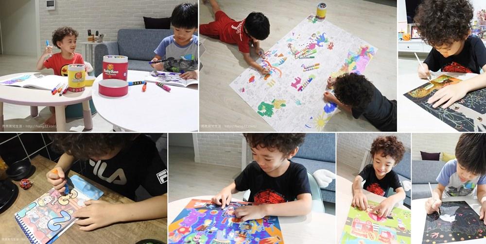 西班牙 JoanMiro兒童繪畫系列‧絲滑蠟筆/可水洗彩色筆/超級大畫家/刮畫/靜電貼紙 都好好玩~快一起來塗鴉吧!!