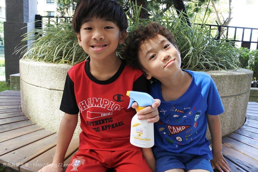 媽咪和孩子都愛的施巴5.5嬰兒防曬保濕乳SPF50~防曬很重要,從小就要預防喔!!