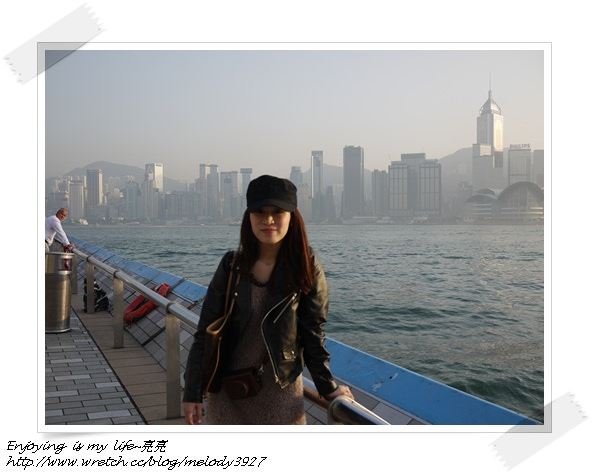 ▋香港♥一起到維多利亞港走星光大道▋