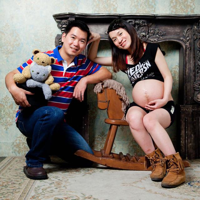 結婚週年照也是孕婦寫真