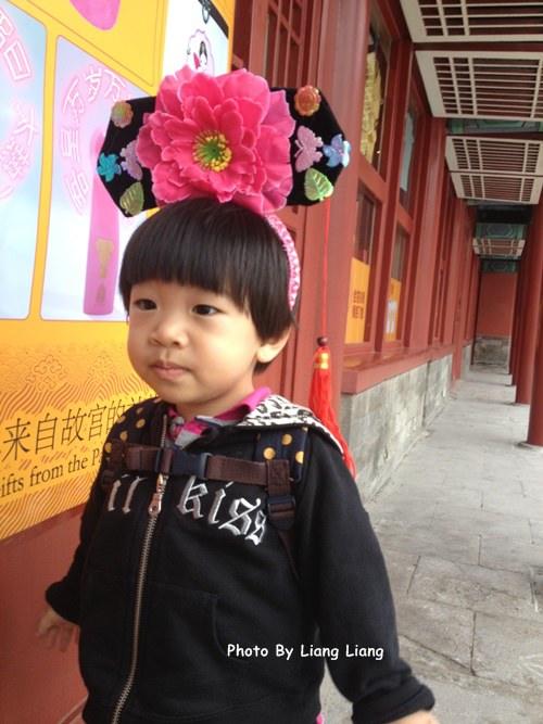 【北京古蹟之旅】小小亮大鬧故宮博物院♥Day4